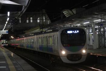 2015年1月1日、西所沢、38112Fの3203レ。左奥は発車した4017F+4015Fの2004レ。