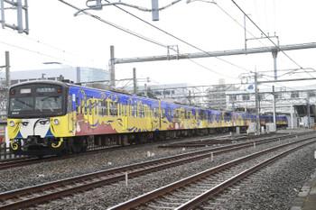 2014年12月20日 10時23分頃、所沢、本川越から西武球場へ向かう3011Fの臨時列車。