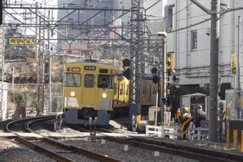 2015年1月29日、高田馬場~下落合、(<-川越)2009F+2543Fの2639レ。