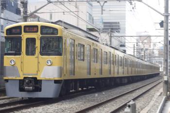 2015年3月4日、高田馬場~下落合、2057Fの5631レ。遅れは2分ほど。