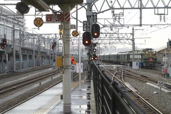 2015年3月2日、富山、下り「トワイライトエクスプレス」8001レ。