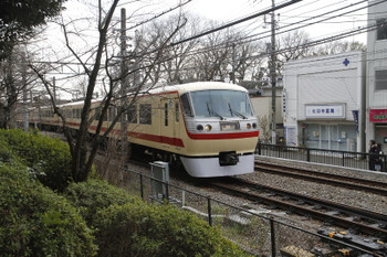 2015年3月21日 14時41分ころ、鷹の台、到着する10105Fの下り臨時列車。