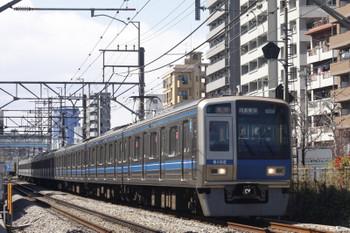 2015年3月24日、高田馬場~下落合、6102Fの2332レ。