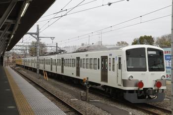 2015年4月4日 12時9分ころ、所沢、JR新秋津駅へ発車した1247F+263F。