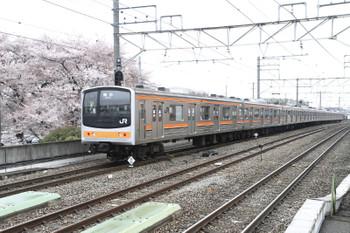 2015年4月5日11時5分ころ、西国分寺、東京ゆき各停。