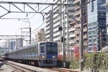 2015年4月2日、高田馬場~下落合、2644レの6102F。