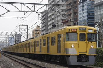 2015年4月10日、高田馬場~下落合、2015F+2515Fの2332レ。