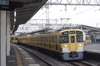 2015年5月8日、西所沢、到着する2453F+2063Fの5103レ。