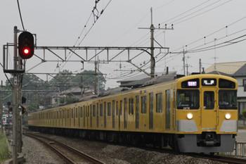 2015年5月9日、元加治、1002レの2077Fと1719レの6107F(左奥)。