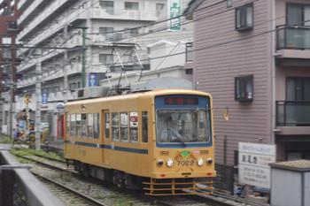 2015年5月12日、学習院下~面影橋、早稲田ゆき7022。