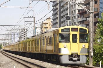 2015年5月14日、高田馬場~下落合、2061F+2417Fの4608レ。