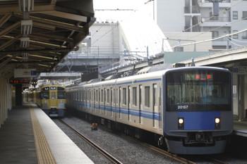 2015年5月31日、椎名町、20157Fの4107レ。