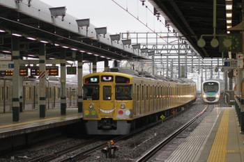 2015年6月6日、練馬、4204レの2075Fと38112Fの下り回送列車。