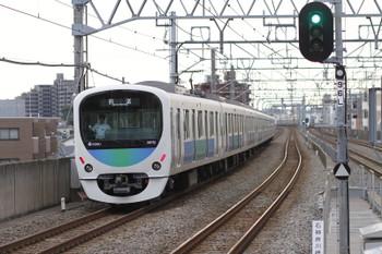 2015年6月7日 6時7分頃、練馬高野台、38112Fの上り回送列車。