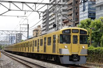 2015年6月8日、高田馬場~下落合、2081Fの5822レ。