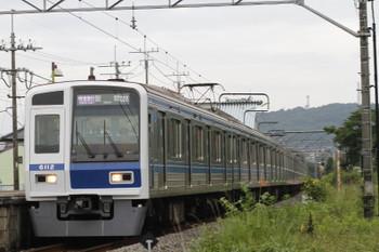 2015年7月5日、元加治、6112Fの1719レ(08M運用)。