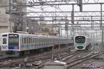 2015年7月5日、石神井公園、6156Fの6501レ(08M運用)。