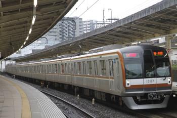 2015年7月18日、入間市、メトロ10017Fの1772レ。