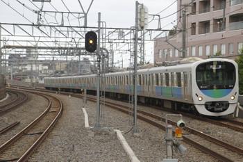 2015年8月9日6時8分頃、練馬高野台、38110Fの上り回送列車。