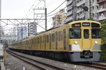 2015年8月10日、高田馬場~下落合、2455F+2061Fの2644レ。