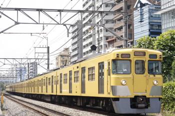 2015年8月12日、高田馬場~下落合、2023F+2539Fの2332レ。