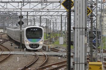 2015年9月16日 14時45分頃、所沢、38116Fの上り試運転列車。