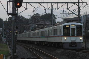 2015年9月27日 17時20分頃、元加治、4007F+4021Fの上り回送列車。