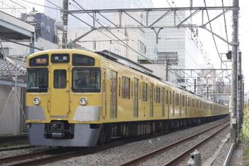 2015年11月24日、高田馬場〜下落合、2511F+2021Fの2325レ。