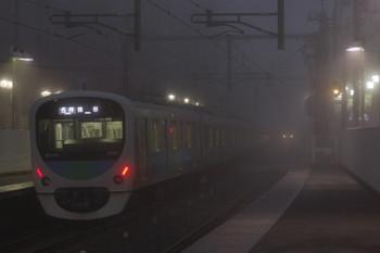 2015年11月27日、江古田、5701レの38105F。