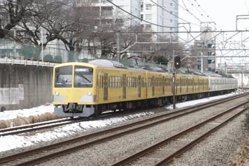 2016年1月23日 12時12分頃、所沢~新秋津、新秋津駅へ向かう263F+1241F。