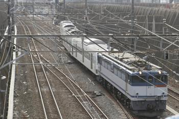 2016年1月23日 13時47分頃、新秋津、西武1241Fを牽引し新座貨物ターミナル駅へ向かうEF65-2089。