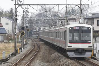2016年1月30日、元加治、東急4107Fの51K運用・1712レ。