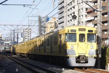 2015年2月16日、高田馬場~下落合、2005F+2457Fの4608レ。