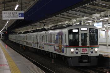 2016年2月19日 18時15分頃、入間市、2002レの折り返しの下り回送列車の4015F+4021F。