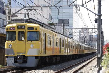 2016年3月29日、高田馬場~下落合、2401F+2065Fの2323レ。