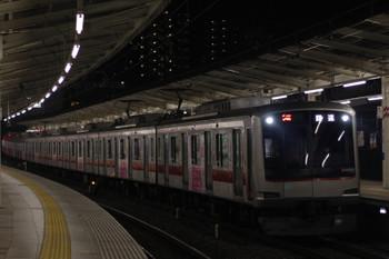2016年4月7日 19時47分頃、入間市、東急4108Fの上り回送列車(54K運用)。
