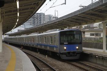 2016年4月23日 17時21分頃、入間市、通過する20153Fの上り回送列車。