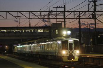 2016年4月29日 18時56分頃、仏子、4009Fの上り列車。