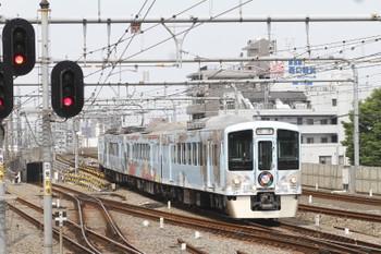 2016年5月1日 9時29分頃、練馬、4009Fの上り回送列車。
