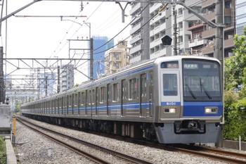 2016年5月24日、高田馬場~下落合、6101Fの2332レ。