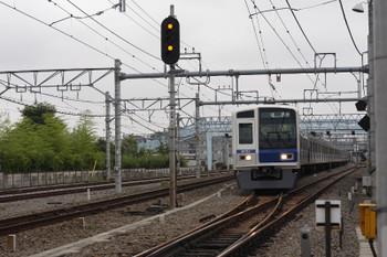 2016年6月15日7時34分頃、保谷、4番線から直接 下り方へ発車した6151Fの12M運用・下り回送列車。