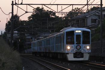 2016年6月5日、元加治〜飯能、4009Fの上り列車。