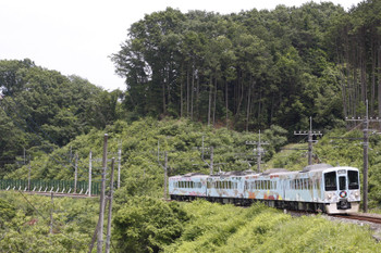 2016年6月11日、高麗~武蔵横手、下りの4009F・52席。