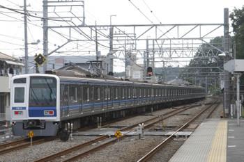2016年7月18日 10時53分、仏子、通過した6111Fの上り回送列車(22M)。