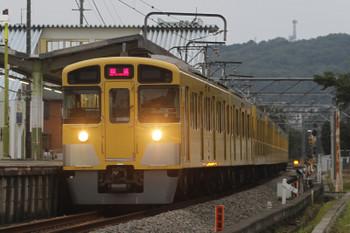 2016年7月23日 18時26分頃、元加治、通過する2097Fの下り回送列車。