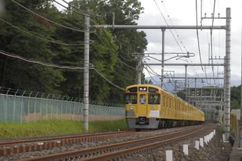 2016年8月22日 17時1分頃、稲荷山公園~入間市、安全点検でゆっくり走る2079F+2463Fの下り回送列車。
