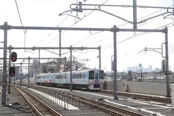 2016年8月7日 8時12分頃、石神井公園、4009Fの下り臨時列車。
