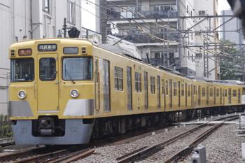 12016年8月23日、高田馬場〜下落合、2403F+2001Fの2642レ。