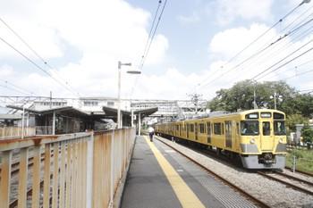 2016年9月4日 12時15分頃、小川、2323レに追い抜かれた「ビアトレイン」用の2545F下り回送列車。