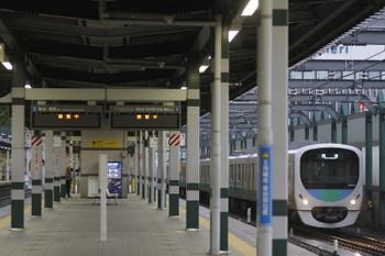 2016年9月11日 6時12分頃、練馬、38015Fの上り回送列車。